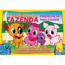 Turminha Da Fazenda Prancheta Para Colorir 01