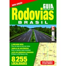 Guia Cartoplam Mapa com Rodovias Brasil