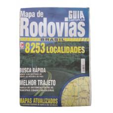 Mapa de Rodovias Brasil Cartoplam: 8.253 localidades
