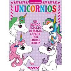 Unicórnios - Colorir Extra 01