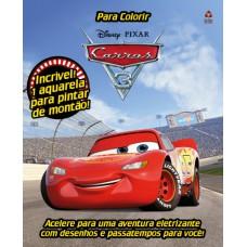 Carros 3 - Disney Prancheta para Colorir