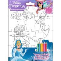 Princesas - Disney Diversão com Quebra-Cabeça