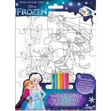 Frozen Disney - Diversão com Quebra-Cabeça