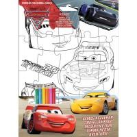 Carros 3 - Disney Diversão com Quebra-Cabeça