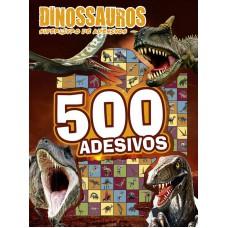 Dinossauros - Superlivro de Adesivos