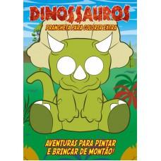 Dinossauros - Prancheta para Colorir Extra