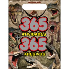 Dinossauros - Prancheta 365 Atividades + 365 Adesivos