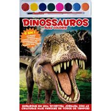 Dinossauros - Colorir com Aquarela