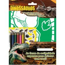 Dinossauros - Colorir com Brilho