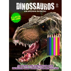 Dinossauros - Colorindo com Lápis de Cor