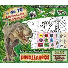 Dinossauros - Colorindo com Adesivos Especial