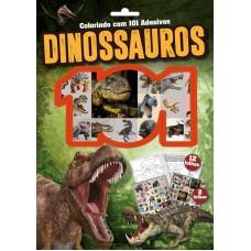 Dinossauros - Colorindo com 101 Adesivos