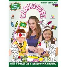 Carrossel - Desenhos para Colorir