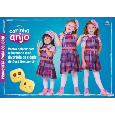 Carinha de Anjo - Prancheta para Colorir 01