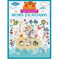 Bichos Encantados - Livro de Colorir para Criança