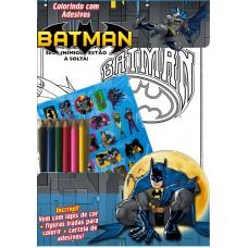 Batman - Colorindo com Adesivos