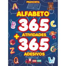 Alfabeto - Prancheta com 365 Atividades e Adesivos
