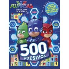 PJ Masks SuperLivro de Adesivos 01