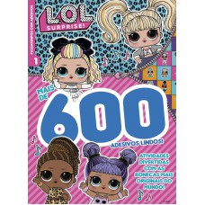 LOL Surprise - Passatempos com 600 Adesivos 01