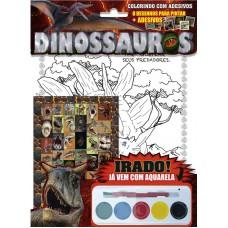 Dinossauros - Colorindo com Adesivos 03
