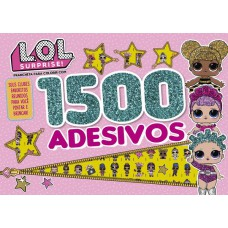 LOL Surprise - Prancheta para Colorir com 1500 Adesivos