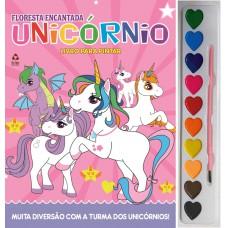Unicórnios - Livro Para Pintar com Aquarela
