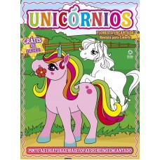 Unicórnios - Revista para Colorir