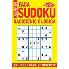 Revista Almanaque Faça Sudoku - Médio