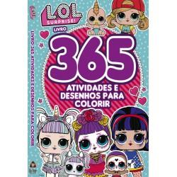 Lol Surprise Livro 365 Atividades E Desenhos Para Colorir
