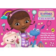 Doutora Brinquedo - Disney Prancheta para Colorir