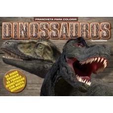 Dinossauros - Pranchetas para Colorir Formas