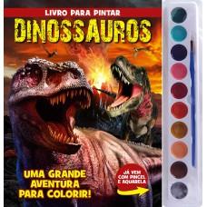 Dinossauros - Livro Para Pintar com Aquarela