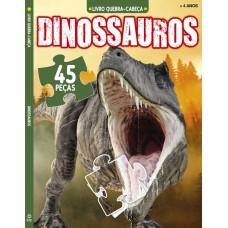 Dinossauro - Livro De Quebra-Cabeça