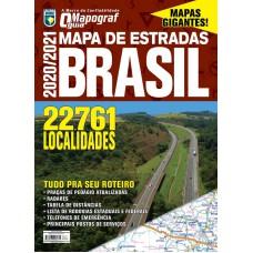 Mapa de Estradas - Brasil 2020/2021