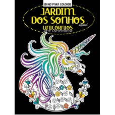 Livro para Colorir Antiestresse - Unicórnios