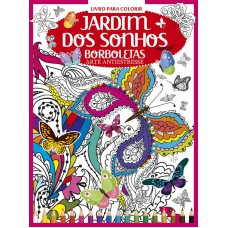 Livro para Colorir Antiestresse - Borboletas