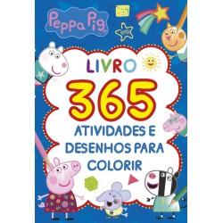 Peppa Pig Livro 365 Atividades e Desenhos para Colorir