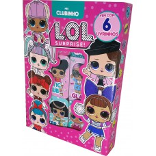 LOL Surprise - Meu Clubinho (Box com 6 Livrinhos)