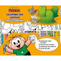 Cebolinha - Colorindo com Adesivos