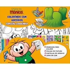 Turma Da Mônica Colorindo Com Adesivos Especial 02 - Cebolinha