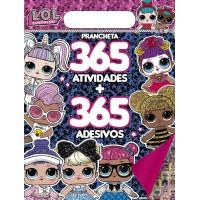 LOL Surprise - Prancheta 365 Atividades + 365 Adesivos