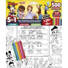 Disney Junior: Super Pinte e Brinque - Pôster Gigante