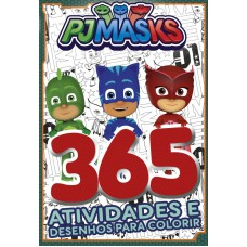 PJ Masks Livro 365 Atividades e Desenhos para Colorir 01