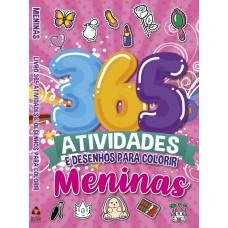 Meninas - 365 Atividades e Desenhos para Colorir
