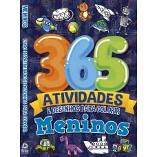 Meninos Livro 365 Atividades e Desenhos para Colorir 01