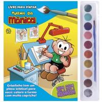 Turma da Mônica Livro para Pintar com Aquarela - Cebolinha