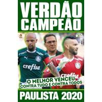 Pôster Palmeiras Campeão Paulista 2020