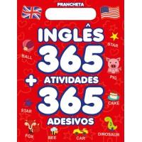 Aprenda Inglês: 365 Atividades e Adesivos