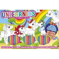 Unicórnios - Hora de Brincar (30 Lápis de cores)