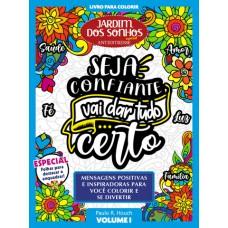 Livro para Colorir Jardim dos Sonhos Especial - Positividade